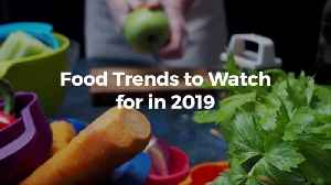 What Are The 2019 Food Trends Going To Be [Video]