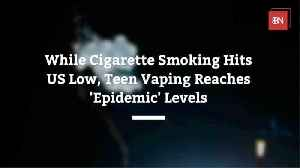 Vaping Teens In America [Video]