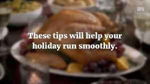5 Ideas At Thanksgiving To Make Your Life Easier [Video]