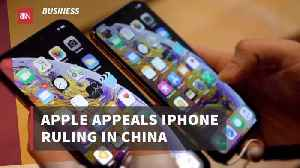 Apple Continues Legal Fight In China [Video]