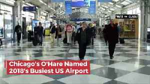 The Busiest Airport In The United States Is... [Video]