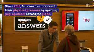 Amazon Is Dropping Pop Up Stores [Video]