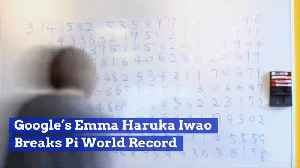 Google Genius Breaks Pi World Record [Video]