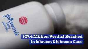 Johnson And Johnson Loses Big Baby Powder Case [Video]