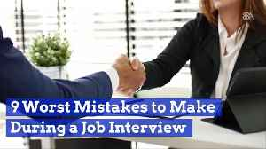 What You Shouldn't Do During A Job Interview [Video]