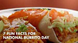 Here Are Some Fun Facts For 'Burrito Day' [Video]
