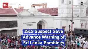 News video: Sri Lanka Officials Knew Of Bombing Plot In Advance
