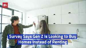 The New Generation Doesn't Want To Rent A Home [Video]