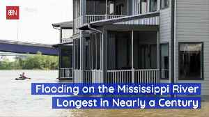 Flooding On The Mississippi River Is Bad [Video]