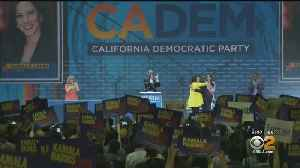Democratic Presidential Hopefuls Converge On San Francisco -- And 1 Gets Big Scare [Video]