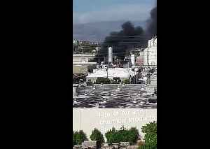 Fire At Chemical Plant In Santa Clara [Video]