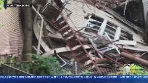 Dozen Families Out Of Homes After Partial Collapse Of Vacant Building In The Bronx [Video]