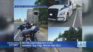 Big Rig Driver DUI Charge [Video]