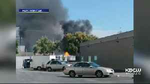 Explosions Set Off Fire At Chemical Plant In Santa Clara [Video]