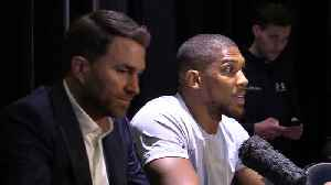 News video: Anthony Joshua reacts to shock defeat by Andy Ruiz Jr