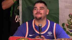 Andy Ruiz Jr beats Anthony Joshua, saying  'I wanted to prove everybody wrong' [Video]