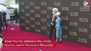Brian May defends artistic licence in Bohemian Rhapsody [Video]