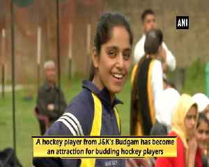 Hockey player from JK's Budgam participates in Womens National Hockey Championship [Video]