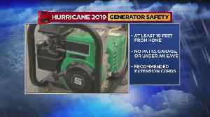 Safety Tips To Keep In Mind When Using Home Generators After A Storm Hits [Video]