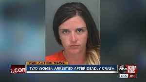 Pinellas County woman arrested for DUI crash that killed motorcyclist [Video]