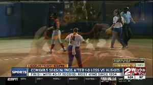 Cowgirls Season Ends with 1-0 Loss to Washington [Video]