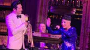 Lady Gaga and Trumpet Player Brian Newman Perform