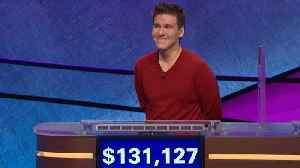 'Jeopardy!' Champion James Holzhauer's Streak Ends At Game 33 [Video]