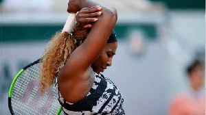 Serena Williams stunned by young American [Video]