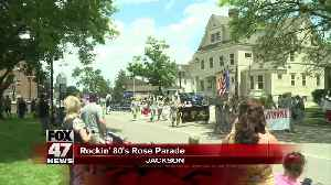Jackson Co. Rose Parade rolls backs to the 80s [Video]