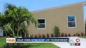 Affordability and sustainability: New solar-powered home comes to Naples [Video]