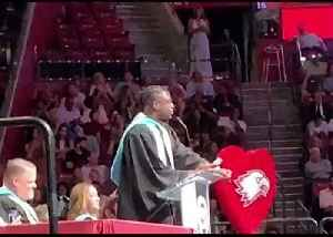 Dwyane Wade Gives Commencement Speech at Marjory Stoneman Douglas High School [Video]