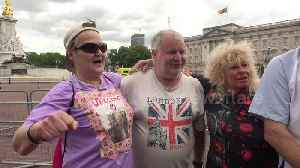 Trump supporters defend US president during his visit to Buckingham Palace [Video]