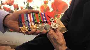 D-Day 75: Veteran has stolen medals replaced [Video]