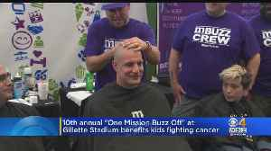 Rob Gronkowski Shaves His Head For One Mission Buzz-Off [Video]