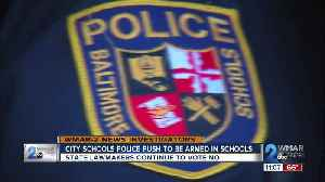 City School Police Push to be armed in schools [Video]