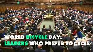 4 Politicians who are humble enough to cycle [Video]