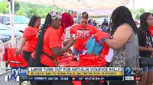 Baltimore leaders reach out to city's youth with anti-gun violence rally [Video]