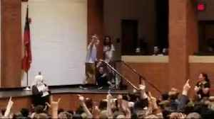 Boy with Down Syndrome wins school kindness award, can't contain his excitement on stage [Video]