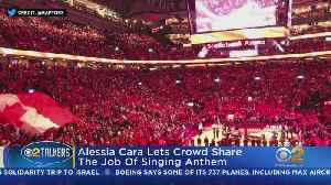 NBA Finals Crowd Takes Over National Anthem [Video]