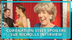 Coronation Street (Corrie) spoilers: can Audrey forgive Nick and David? Sue Nicholls interview [Video]
