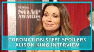 Coronation Street (Corrie) spoilers: can Carla survive breakdown? Alison King interview [Video]
