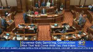 Pritzker Ready To Sign Budget, Construction Plan, Other Legislative Wins [Video]