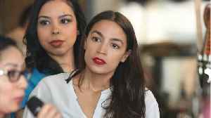 Ocasio-Cortez Returns To Bartending To Promote 'Wage Act' [Video]