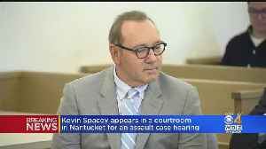 Kevin Spacey Returns To Nantucket Court In Sex Assault Case [Video]