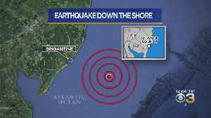 2.0 Magnitude Earthquake Reported Off Brigantine, New Jersey Coast [Video]