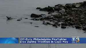 Off-Duty Philadelphia Firefighter Dies During Swim Portion Of Cape May Triathlon, Officials Say [Video]