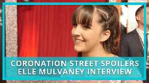 Coronation Street (spoilers): Elle Mulvaney on why she was nervous of Amy Barlow pregnancy [Video]