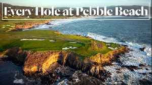 Every Hole at Pebble Beach Golf Links in Pebble Beach, CA [Video]