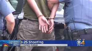 Police Arrest Suspect Driver In I-25 Shooting [Video]