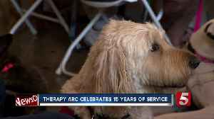 Animal therapy program celebrates 15 years of service in the mid-state [Video]